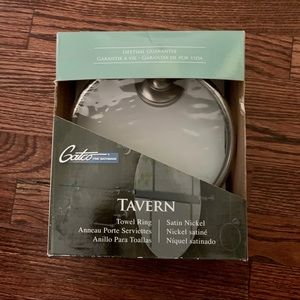 Gatco Tavern Towel Ring